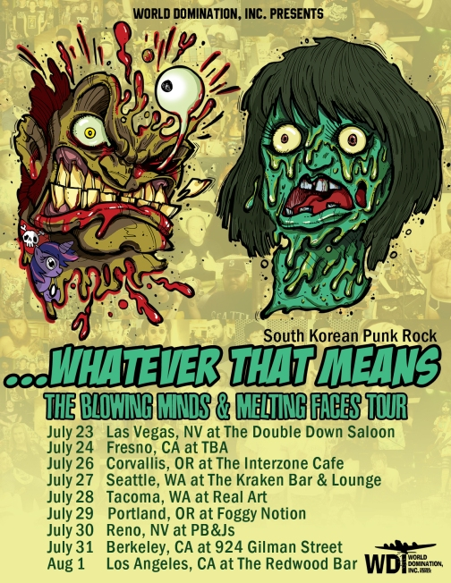 Whatever That Means tour poster